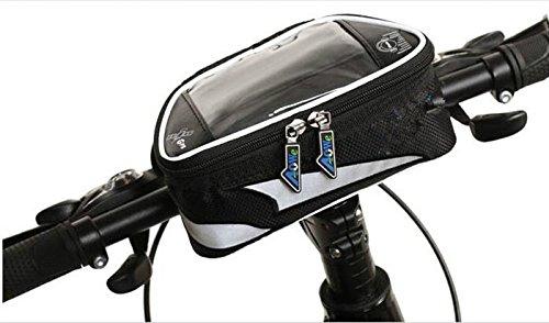 XY&GKFahrrad Front Tasche Handy Tasche obere Rohr Beutel Mountainbike Reiten Ausrüstung Musik Navigation Cross Bag, machen Ihre Reise angenehmer Yellow