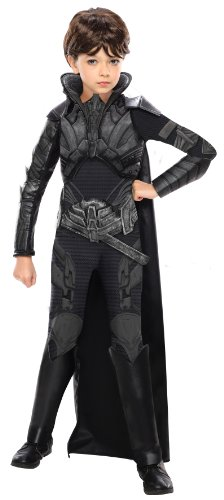 Faora Kostüm Superman Man of Steel Deluxe-Mädchen - M - 128cm