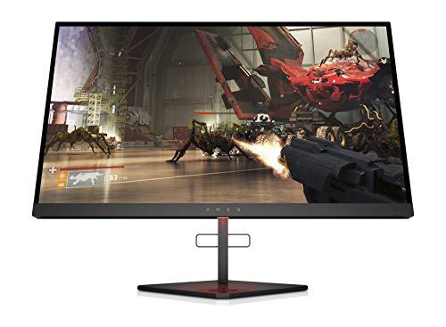 HP OMEN X 25f - Monitor gaming de 25 pulgadas Adaptive sync + altura ajustable (TN, 240 Hz, 1 ms, FHD 1920 x 1080, 400 nits) negro