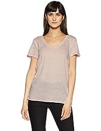 GAP Women's Plain Regular Fit T-Shirt