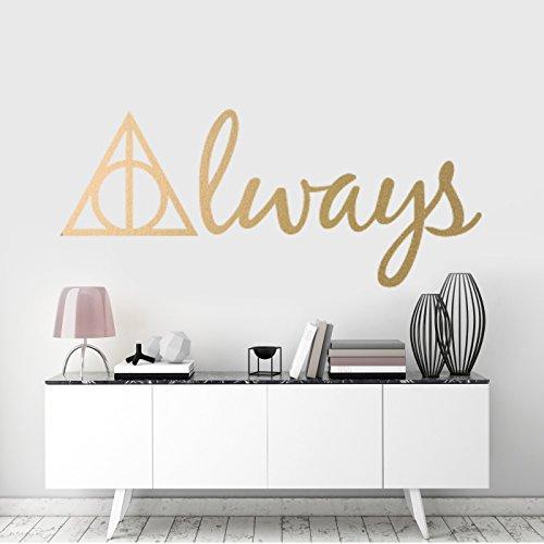 Wandtattoo Always Harry Potter Und Die Heiligtumer Preispiraten De Preisvergleich