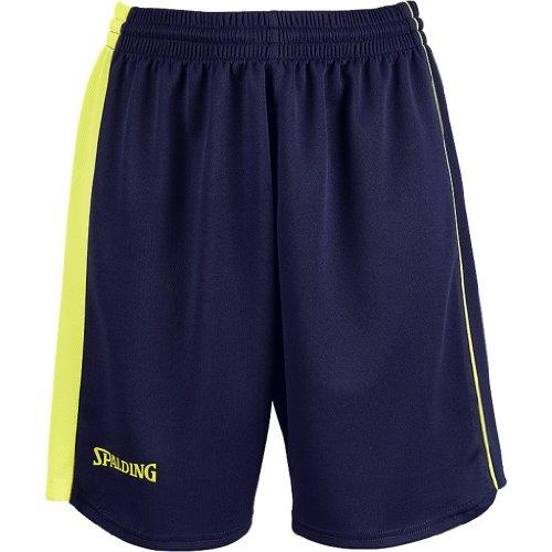 Spalding, Pantaloncini Teamsport Donna marine/jaune fluo