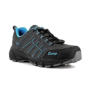 kastinger kastinger trail run waterproof women's outdoor shoes-tex membrane for waterproofing and breathability, quick lacing, multi sport shoe