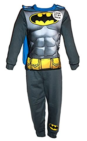 Iron Man T-shirt Costume - Costume/pyjama de super-héros pour garçon Batman, Spiderman,