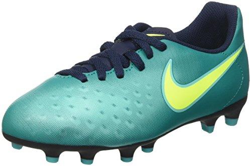 Nike 844204-374, Chaussures de Football Garçon Bleu