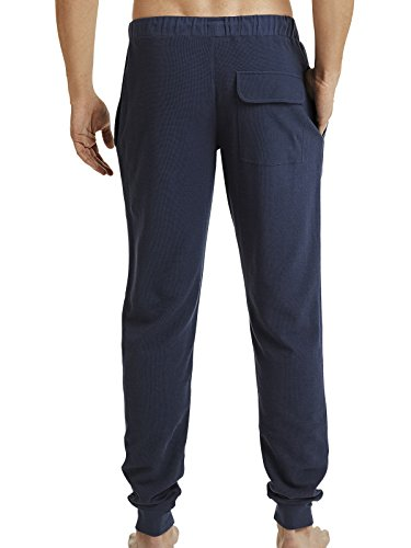 Marc O'Polo Body & Beach Herren Schlafanzughose Mix Pants Dunkelblau