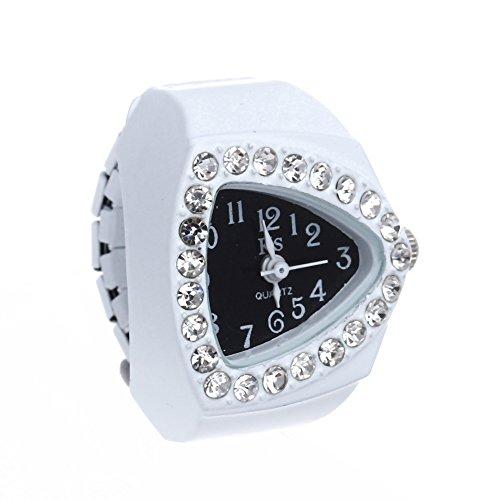Skyllc® Delicate Triangle métal strass Annulaire Watch d'occasion  Livré partout en Belgique