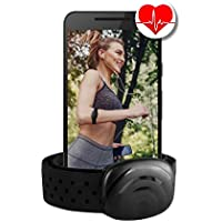 BerryKing Heartbeat Bluetooth & ANT+ oder Sportbeat für Garmin Wahoo Polar RUNTASTIC STRAVA ENDOMONDO TomTom Apple iPhone Android Brustgurt Armgurt Armband Herzfrequenzmesser HRM Sensor