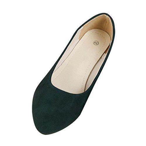 Minetom Femme Chaussure Ballet Casual Plat Chaussures Tout-Match Marche Plate Escarpin Mocassin