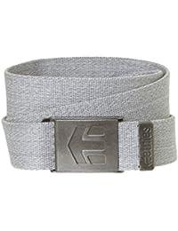 Etnies Staplez Belt, Color: Light Grey/Dark Grey, Size: One Size