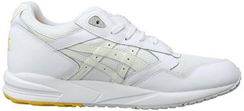 Asics Gelsaga, Scarpe sportive, Unisex-adulto Bianco (White/White 101)