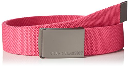 Urban Classics Canvas Belts TB305, Color:fuchsia;Größe:one size