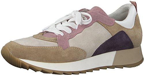 Tamaris 1-1-23776-30 Damen Schnürhalbschuhe, Sneaker, Schnürer, Halbschuhe für die modebewusste Frau braun (MUD Comb), EU 38