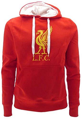 Liverpool F.C. Kapuzenpulli Hoodie Sweatshirt Original Mit Offizieller Lizenz (XXL EXTRA EXTRA Large)