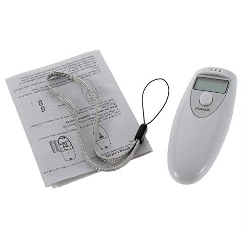 Förderung Professionelle Pocket Digital Alkohol Tester Analyzer Alkoholtester Detektor Test Prüfung PFT-641 LCD Display Pocket-batterie-tester