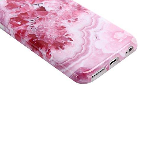 Coque iPhone SE / 5 / 5S, IJIA Ultra-mince Motif Marbre Naturel Blanc-Noir TPU Doux Silicone Bumper Case Cover Shell Coque Housse Etui pour Apple iPhone SE / 5 / 5S + 24K Or Autocollant color-KM12