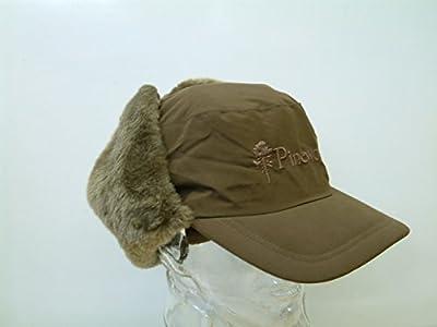 Pinewood Cap Jagdkappe mit Ohrenklappen Jagdbraun 60