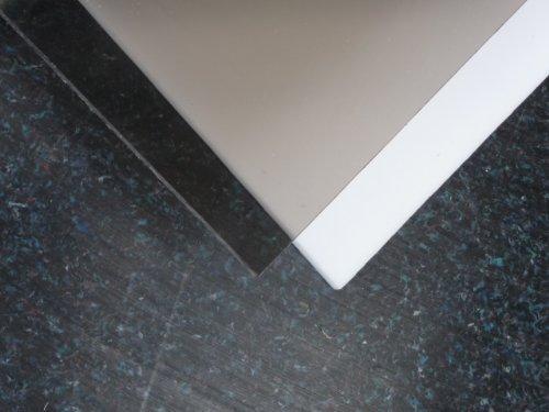 Polycarbonat Platte 1000 x 600 x 3 mm bronze (braun) 50 % Lichtdurchlässigkeit Zuschnitt alt-intech®