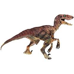 Homyl Juguete de Modelo de Dinosaurio para Colección Decor 1 Pedazo - Velociraptor 14x7.5x11cm