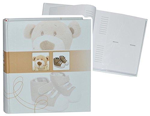 einsteckalbum-baby-erste-fotos-fe-braun-gebunden-zum-einstecken-gro-fr-bis-zu-200-bilder-fotoalbum-f