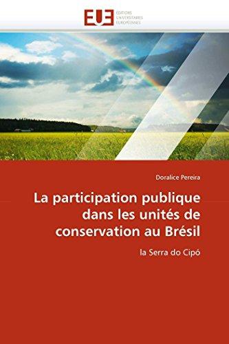 La participation publique dans les unités de conservation au brésil