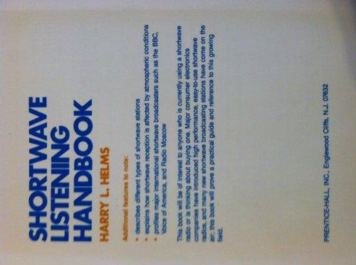 Shortwave Listening Handbook