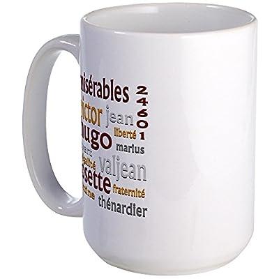 CafePress - Les Miserables Large Mug - Coffee Mug, Large 15 oz. White Coffee Cup by CafePress