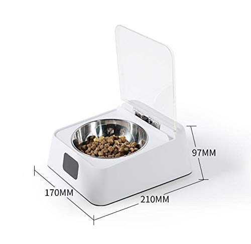 Katze Schüssel Hundenapf Smart Feeder Katze automatische offene Abdeckung Katzenfutter Schüssel Anti-Milbe Anti-Maus Feuchtigkeit Tiernahrung Schüssel@Intelligenter Sensor für Haustierschalen_Katz -