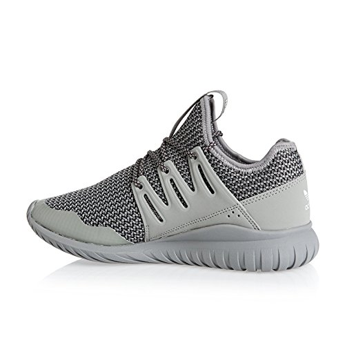 adidas  Tubular Radial J, chaussure de sport Unisexe - enfant Gris