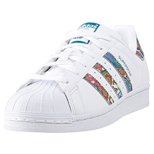 adidas Superstar W, Chaussures de Fitness Femme Blanc