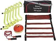 Set di allenamento fitness,perfetto per l'allenamento personale, per esercizi e forza,attrezzature per casa