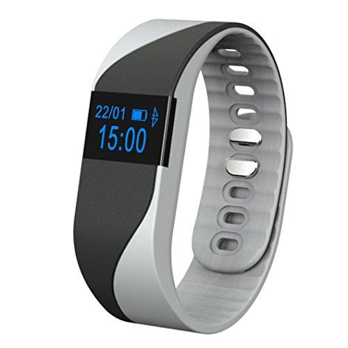 Smart-Armband Wasserdichte Bluestercool Bluetooth Smart Watch (Schwarz)