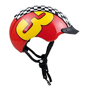 Casco Mini Pro Casque vélo Pour enfant Motif Pro Racer 3 44-50 cm