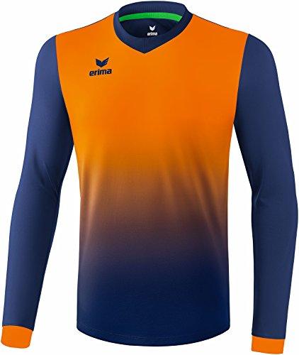 Erima Herren Leeds Trikot New Navy/Neon orange, XXL