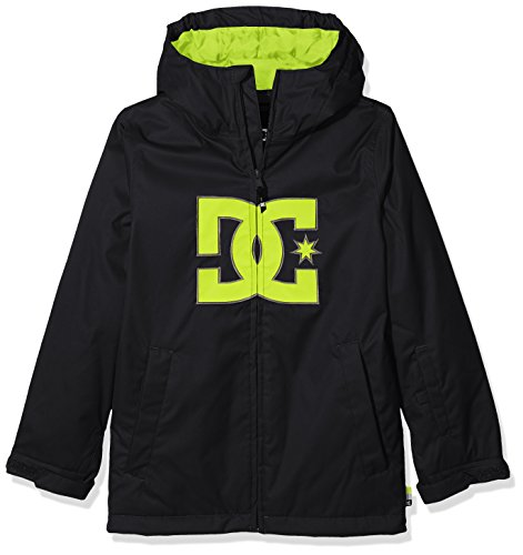 DC Apparel Jungen Youth JKT Story - Snow Jacket for Boys 8-16, Anthracite, 12/L Jkt Snow
