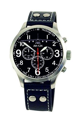 AH-124 Antonow Aviator Chrono Armbanduhr - Sonderedition - limitierte Auflage