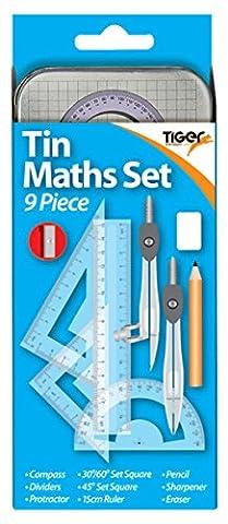 Tiger 9pièces Instruments de mathématiques et inspirants Aimant