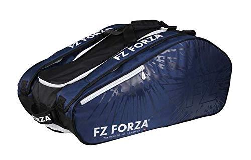 FZ Forza Schlägertasche Multithermobag Racketbag Blue Light - Blau - für bis zu 15 Schläger - Geeignet für Badminton, Squash, Tennis, Speed Badminton etc.