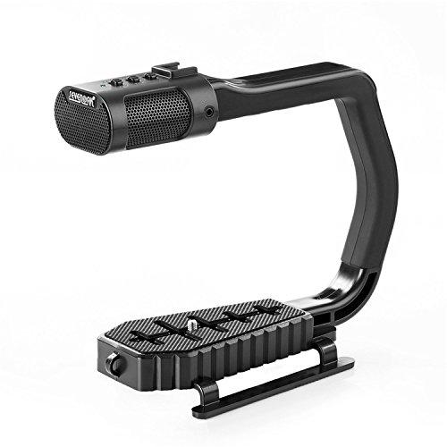 SEVENOAK MicRig Video Audio Griff mit Eingebautem Mikrofon für Smartphone GoPro DSLR Kamera Camcorder