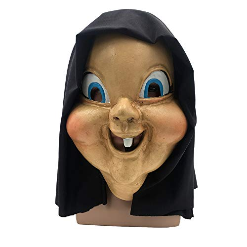 KLJJQAQ Halloween lustige Requisiten Party Party Horror Maske Metall Maske Maskerade Karneval Maske Halloween Kostüm Party Sexy