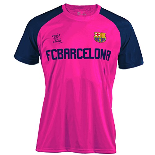 BARÇA Camiseta Training 18 Fucsia T-XL