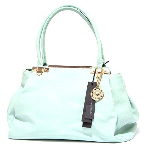 9964R borsa donna ANNARITA N borsa a mano multitasche azzurra hand bag woman Azzurro