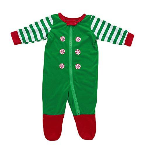 Xmas Ensemble De Pyjamas De Noël avec Maman Papa Enfant Soft Respirant Coton Pantalon Haut Baby 70