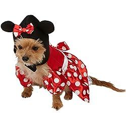 Rubies 3580207-Disfraz para perros, diseño de Minnie Mouse