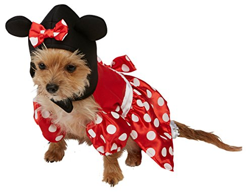Rubie's 3580207 - Minnie Mouse Hundekostüm, - Warehouse Maus Kostüm