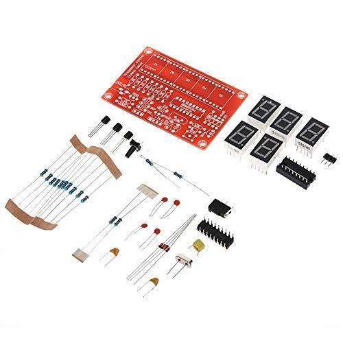 LED RLFS 1Hz-50MHz Crystal Oscillator Frequency Counter Meter Digital LED Checker Crystal