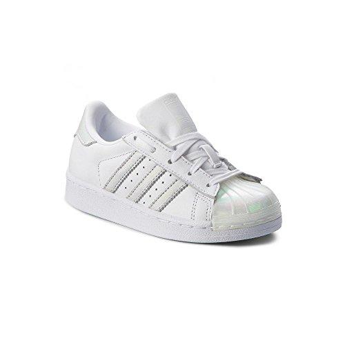 huge discount 4f9eb 0636c adidas Originals CQ2734 Sneakers Bambino Bianco 35