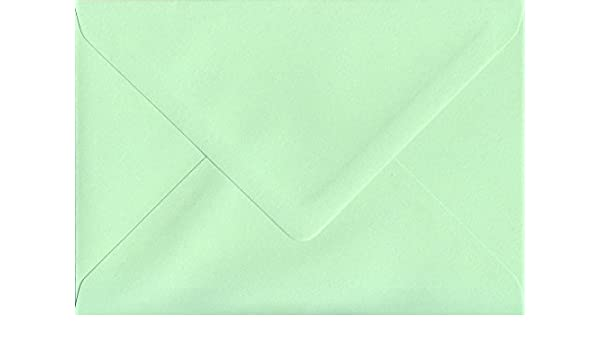 Mint Green 162mm x 229mm Gummed C5 to fit A5 100gsm Paper Coloured Envelopes