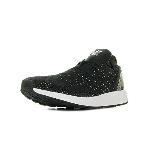 Adidas ZX Flux ADV Asymmetrical Primeknit Black Black White 42