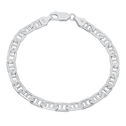 mens-65mm-real-925-sterling-silver-diamond-cut-mariner-link-bracelet-7